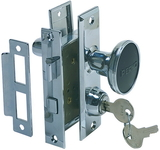Perko MORTISE LOCK SET CP ZINC 0927DP0CHR (Image for Reference), Price/Each