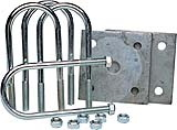 TDEBW TIE PLATE KIT W/RND U-BOLTS 81180 (Image for Reference), Price/Each