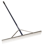 Midwest Rake 10048 48&quot; Landscape Rake, 66&quot; Blue Aluminum Handles,Rakes,Lawn & Landscaping, Price/each