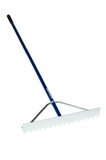 Midwest Rake 56924 24&quot; ProTurf Lute, 82&quot; Blue Aluminum Handles, Price/each