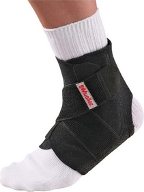 Mueller ADJUSTABLE ANKLE STABILIZER, Black , Product #: 44547