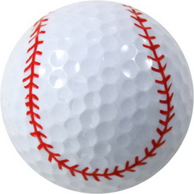 Chromax Novelty Golf Balls Bulk--Baseball