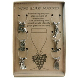 PAS Wine Charm Set