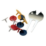 PAS Divot Tool with 12 Ball Markers, Core Accessories