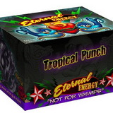Case Of Eternal Energy Shot 2Oz Bottle - Tropical Punch Flavor - 12 Bottles=Case