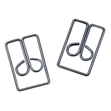 "Acco Regal Owl Paper Clips, 1"" Length - 100 / Box - Silver, Price/BX"