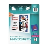 "Avery Removable Self Adhesive Display Protector, Letter 8.5"" x 11"" - Polypropylene - 10 / Pack - Clear, Price/PK"