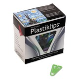 Baumgartens Plastiklips Paper Clip, Large - 200 / Box - Assorted, Price/BX