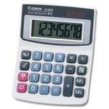 Canon LS82Z Handheld Calculator, 8 Character(s) - LCD - Battery/Solar Powered, Price/EA