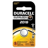 Duracell DL2016BPK Lithium General Purpose Battery, Lithium (Li) - 3V DC, Price/EA