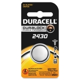 Duracell DL2430BPK Lithium General Purpose Battery, 3V DC, Price/EA