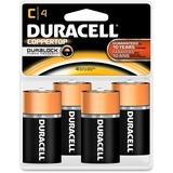 Duracell MN1400R4Z C Size Alkaline General Purpose Battery, Alkaline, Price/PK
