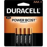 Duracell DURMN2400B4Z Duracell Alkaline General Purpose Battery, AAA - Alkaline - 1.5 V DC, Price/PK