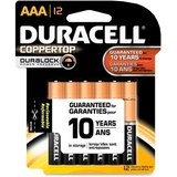 Duracell Alkaline General Purpose Battery, AAA - Alkaline - 1.5V DC, Price/PK