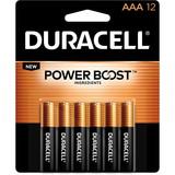 Duracell DURMN24RT12Z Duracell Alkaline General Purpose Battery, AAA - Alkaline - 1.5 V DC, Price/PK
