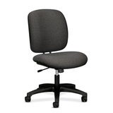 "HON ComforTask 5902 Task Swivel Chair, Steel Black Frame23"" x 28"" x 30"" - Olefin Gray Seat, Price/EA"
