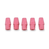 Integra Pencil Cap Eraser, Lead Pencil Eraser - Latex-free - 1 / Box - Pink, Price/BX