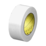 "3M Scotch High-Performance Filament Tape, 2"" Width x 60yd Length - 3"" Core - Glass Yarn - 1 Roll - Clear, Price/RL"