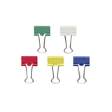 OIC Binder Clip Assortment, Small - 1 Pack - Blue, Red, Green, White, Yellow, Price/PK