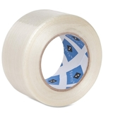 "Sparco Superior Performance Filament Tape, 2"" Width x 60yd Length - 3"" Core - Fiberglass Filament - 1 Roll - White, Price/RL"