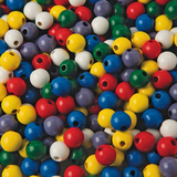 Large Wooden Beads (pk/100), Price/per bag
