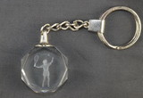 Octagonal Key Ring-Female Player