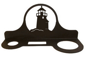 Village Wrought Iron HD-10  Lighthouse Hair Dryer Rack, Price/Each
