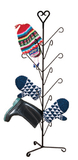 Village Wrought Iron  MD-S-8-51  Heart Mitten Dryer, Price/Each
