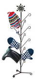 Village Wrought Iron  MD-S-8-85  Snowflake Mitten Dryer, Price/Each