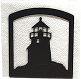 Village Wrought Iron  NH-10  Lighthouse Napkin Holder, Price/Each