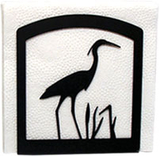 Village Wrought Iron  NH-133  Heron Napkin Holder, Price/Each