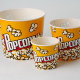 Wabash Valley Farms 44049, Large Reusable Popcorn Movie Tub, Yellow, Price/Ea