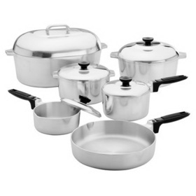 MAGNALITE 1040816 Classic 13-pc Cookware Set