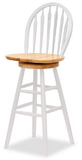 "Winsome 53630 Wood Windsor Swivel Stool, 30"", Single, RTA"